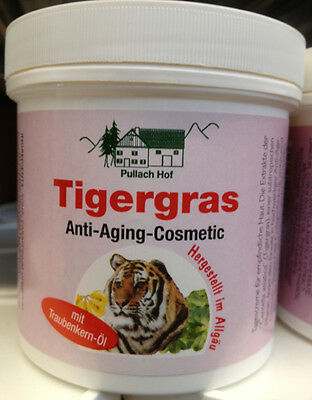 12x 250ml Tigergras Anti Aging Cosmetic Creme, Lotion Balsam  Pullach Hof 1756