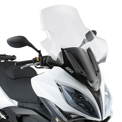WINDSHIELD KYMCO D295ST XCITING R300i-500I WITH HANDGUARDS GIVI