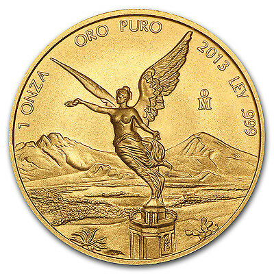 2013 1 oz Gold Mexican Libertad Coin - Brilliant Uncirculated - SKU #75881