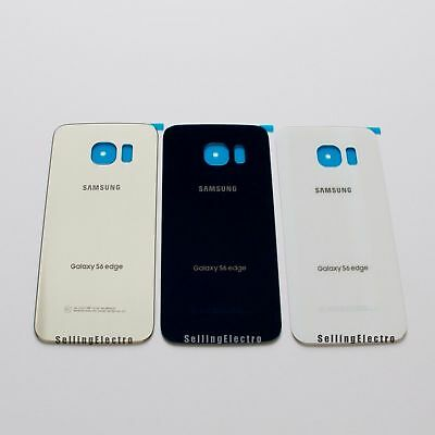 Back Housing Glass Cover For Samsung Galaxy S6 Edge G925