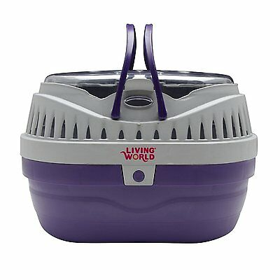 Hagen Living World Pet Carrier Size: Small model number: 60887 Living World AOI