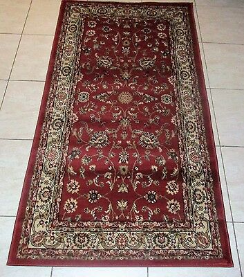 New Persian Design Heatset Hallway Runner Floor Rug 80X150Cm