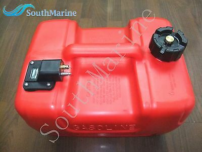 12L Fuel Tank Assembly for Yamaha Outboard Motor with Fuel Cap and Fuel Gauge
