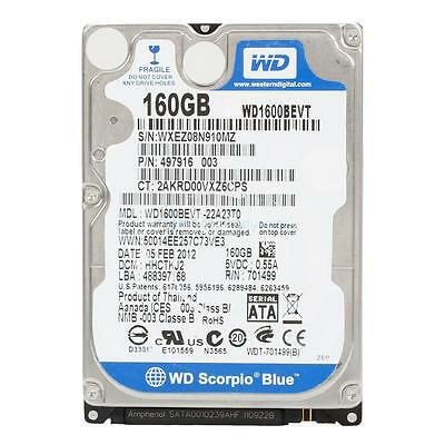"""1X Cache 160GB 7200RPM 16MB 2.5"""" SATA Hard Drive Kit for PS3 HDD HK BEST-SOLD"""