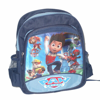 Large New Kids Boys School Bag Backpack Paw Patrol Resuce Ryder Chase Marshall