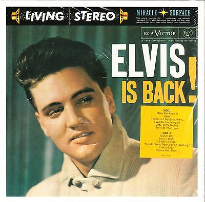 Elvis Presley - ELVIS IS BACK! - FTD 44 New / Sealed CD**********