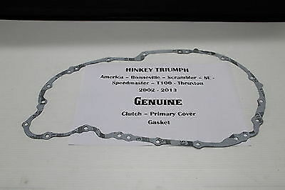 TRIUMPH AMERICA SPEEDMASTER & OTHERS **PRIMARY CLUTCH COVER GASKET Carbs & EFI**