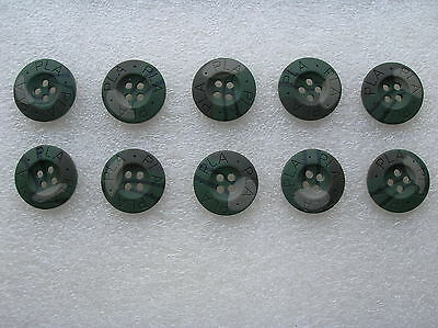 07's series China PLA Army Woodland Camouflage Resin Buttons,10 Pcs,20mm