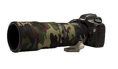 Canon 300mm f4 NON IS Neoprene camera lens protective coat cover AP Camouflage