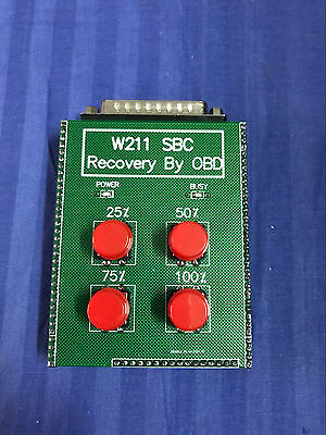 SBC reset tool for Mercedes for Benz W211 R230 ABS SBC Reset Tool---OBD Recover