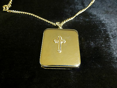 Vintage Reuge Miniature Wind Up Music Box Musical NECKLACE (Watch The Video)