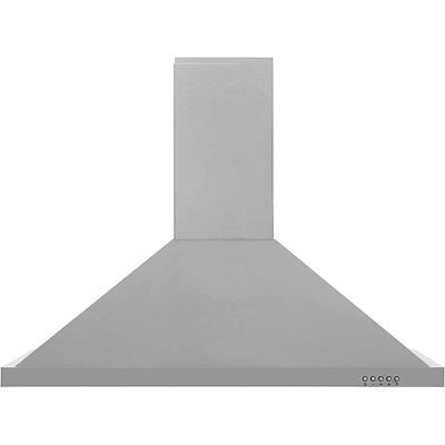 Baumatic F90.2SS Built In 90cm 3 Speeds Chimney Cooker Hood Stainless Steel New