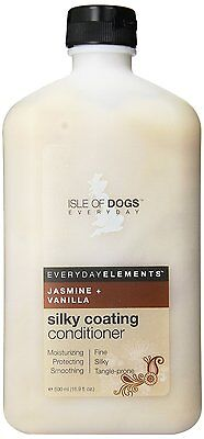 Isle of Dogs Everyday Jasmine & Vanilla Silky Coating Conditioner 16.9 oz 500ml