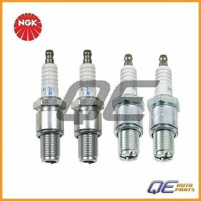 4 NGK Spark Plugs RE7CL / RE9BT Leading/Trailing For: Mazda RX-8 1.3 2004-2011