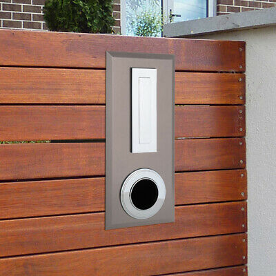 Milkcan Letterbox Picket Fence Mount Latte Steel Mailbox Ring