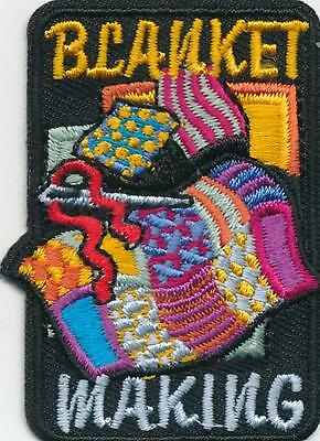 Girl Boy Cub BLANKET MAKING Donation projects Patches Crests Badges SCOUT GUIDE