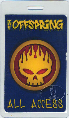 THE OFFSPRING 2000 Tour Laminated Backstage Pass Numbered