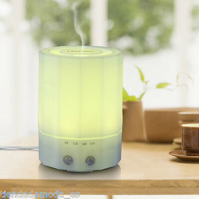 200ML Essential Oil LED Diffuser Ultrasonic Humidifier Aromatherapy Purifier