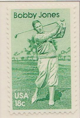 (USR-91) 1981 USA 18c Bobby Jones used