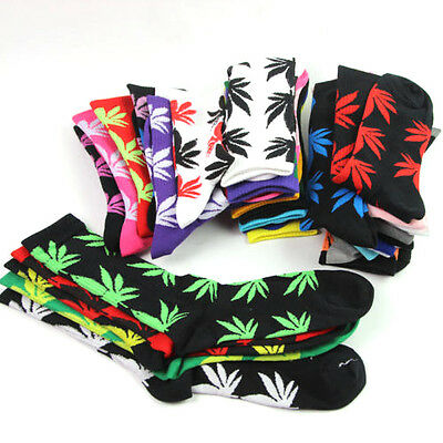 Marijuana Weed Maple Leaf Cotton High Socks Socks Cotton Spring Ankles Socks