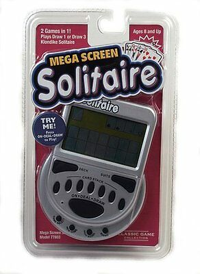 Mega Screen Solitaire by John N. Hansen Large easy to read screen BRAND NEW