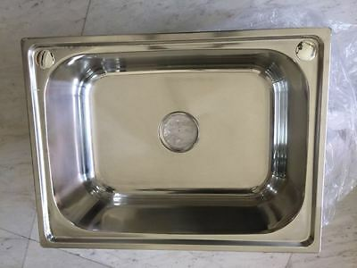 Stainless Steel Kitchen Sink / Laundry Tub (60cm x 45cm)