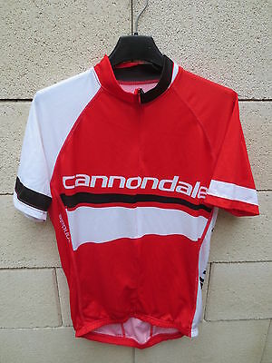 Maillot cycliste CANNONDALE feel it cycling jersey shirt rouge 50 M