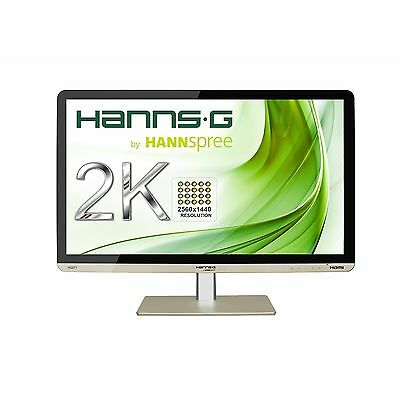 Hanns-G HQ271HPG 27 inch LED IPS Monitor - 2560 x 1440, 7ms, Speakers, HDMI, DVI