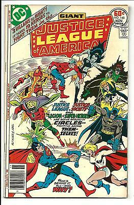 Justice League Of America # 148 (Giant Size, Nov 1977), Fn/vf