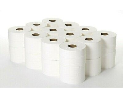 Micro Mini 2 Ply Toilet Rolls White Tissue 120 Meter no super jumbo mini jumbo