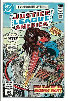 Justice League Of America # 186 (Jan 1981), Vf/nm