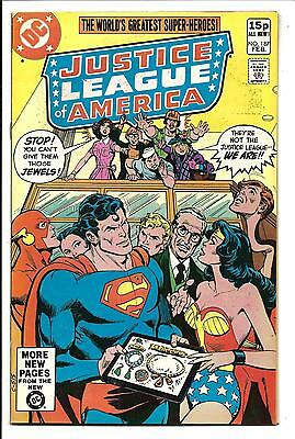 Justice League Of America # 187 (Feb 1981), Vfn