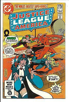 Justice League Of America # 191 (June 1981), Vf/nm