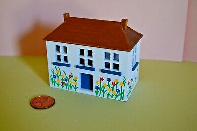 Miniature Doll's Dollhouse Toy Box in 1:12 doll scale