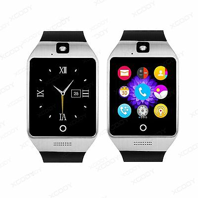 Waterproof Gold Bluetooth Smart Watch Phone Mate For IOS Android Samsung Sony LG