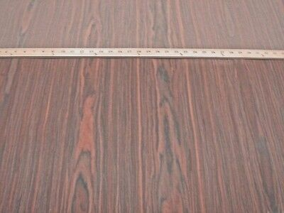 """Rosewood composite wood veneer 48"""" x 24"""" with paper backer (4' x 2' x 1/40th"""")"""