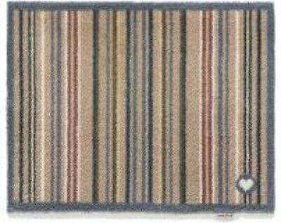 Hug Rug 85x65 (STRIPE 26) Dirt Trapper Door / Floor Mat Machine Washable
