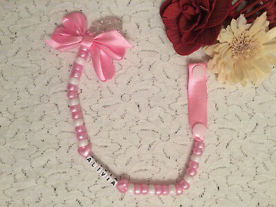 Personalised Dummy Clips Soother