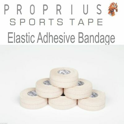 EAB Elastic Adhesive Bandage,Sports,Rugby,Thumb,Vet,Strapping Tape 6x25mmx4.5