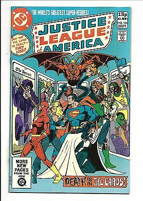 Justice League Of America # 194 (Sept 1981), Vf/nm