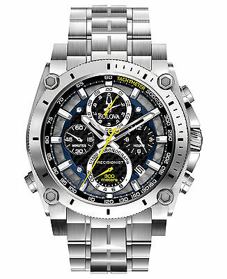 Bulova Men's 96B175 Precisionist Chronograph Stainless Steel Watch