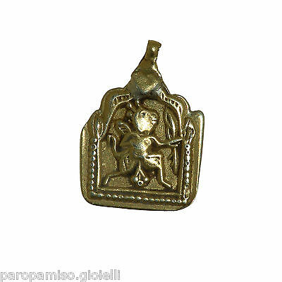 Antique Indian Pendant in Gold - (Rajasthan)   -   (1006)