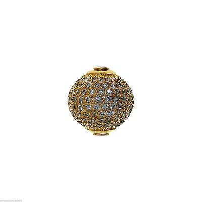Vintage Indian Element for Jewelry - Gold and Diamonds   -   (1009)