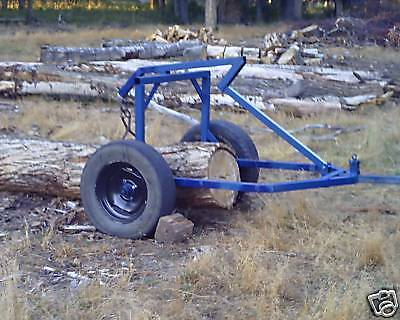 Plans to build a log arch/log skidder for small tractor/ATV