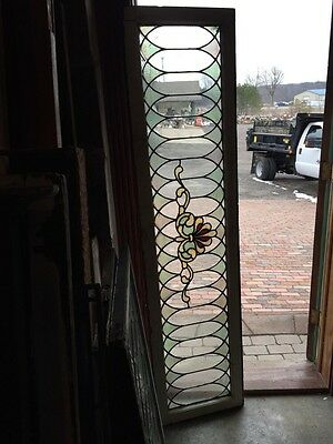 Sg 643 Antique Transom Window 74 Inches Long 18 1/2 High