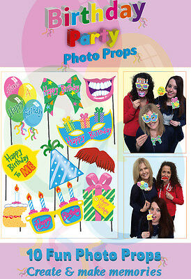 10 Funny Birthday Party Photo Props on A Stick Weddings Birthday Party