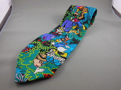 Mickey Mouse, Donald Duck & Goofy Neck Tie