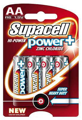 AA Batteries Supacell Power Plus not Panasonic Duracell