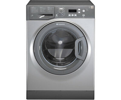 Hotpoint WMAQF721G Aquarius A+ 7Kg 1200 Spin Washing Machine Graphite New from