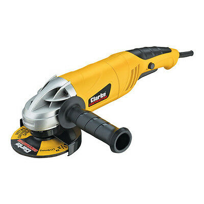 """Heavy Duty 115mm (4½"""") Angle Grinder (230V) Clarke Contractor - New"""